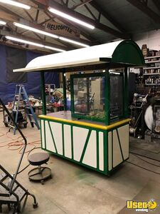 Fully Self-Contained 2010 3.6' x 7' Wood Crafter Street Food Vending Kiosk for Sale in Pennsylvania!