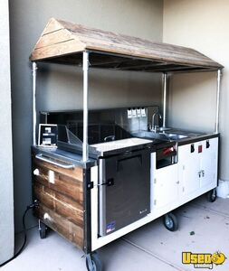 2017 -  3.5' x 8' Food Vending Concession Kitchen Event Catering Cart for Sale in Utah!