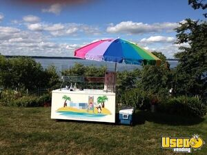 Beautiful 2000 Cambro 2.5' x 6' Shaved Ice Concession Cart / Snowball Stand for Sale in Washington!