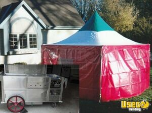 Custom Built Hot Dog Cart with Tent  in Wisconsin for Sale!!!