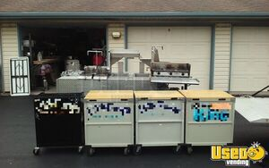 Licensed 2015 - 5' x 9' Professional Food Vending Concession Cart Trailer for Sale in Wisconsin!