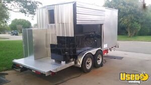 Food Concession Trailer Concession Trailer Air Conditioning Texas for Sale