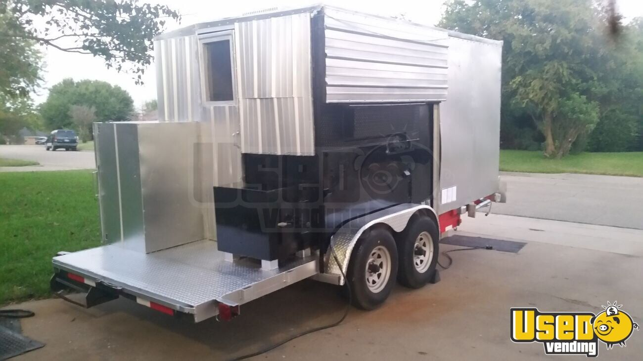 Food Concession Trailer Concession Trailer Air Conditioning Texas for Sale - 2