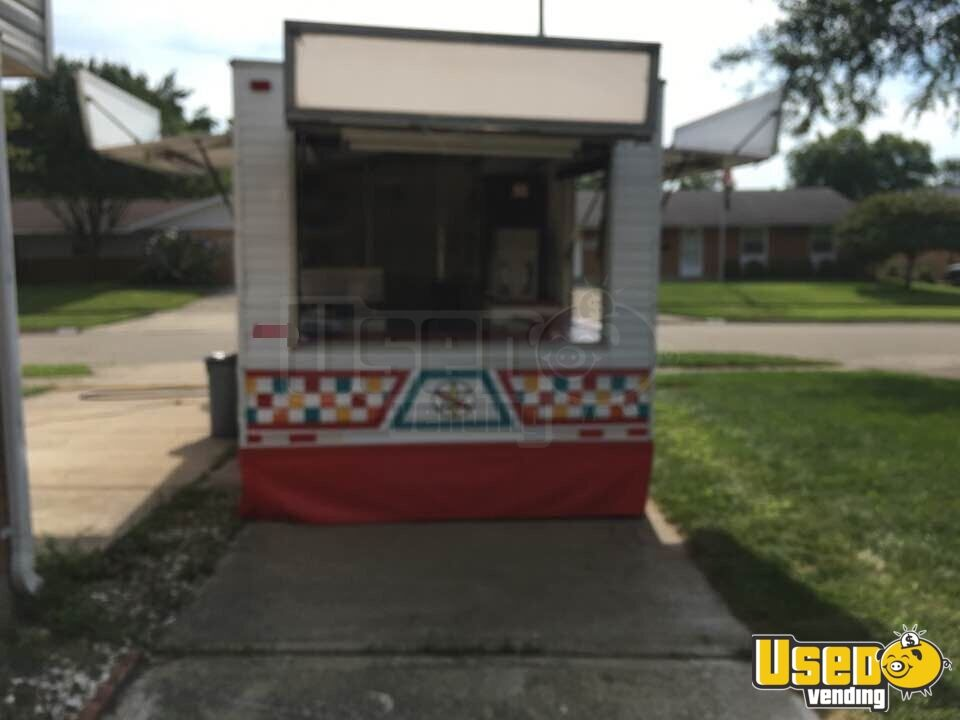 Food Concession Trailer Concession Trailer Cabinets Ohio for Sale - 2