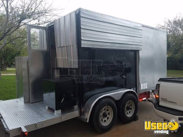 Food Concession Trailer Concession Trailer Concession Window Texas for Sale - 3