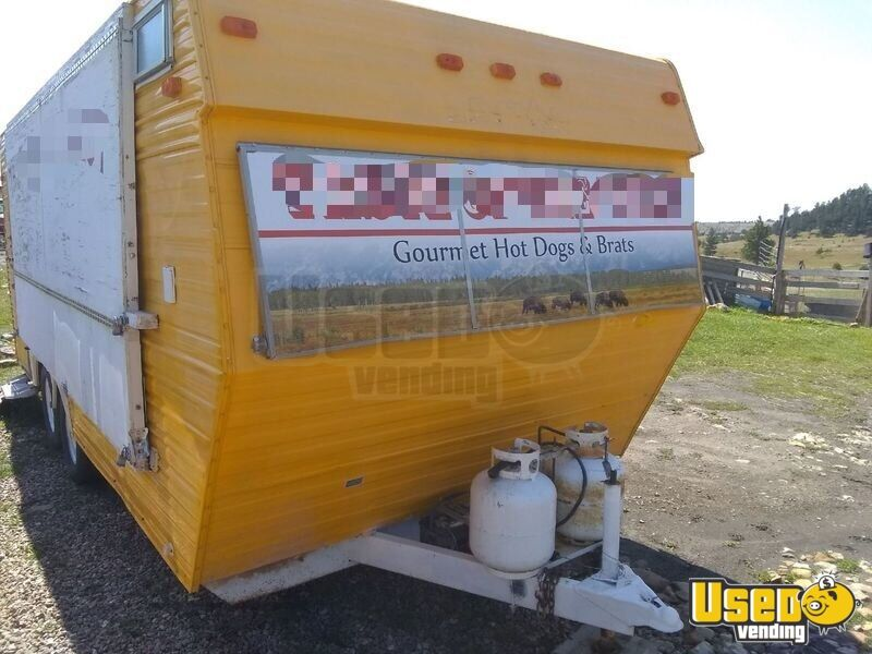 Food Concession Trailer Concession Trailer Deep Freezer Wyoming for Sale - 7