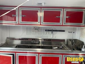 Food Concession Trailer Concession Trailer Diamond Plated Aluminum Flooring Florida for Sale