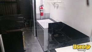 Food Concession Trailer Concession Trailer Diamond Plated Aluminum Flooring Texas for Sale