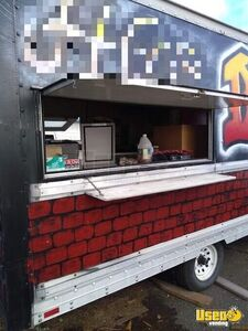 Food Concession Trailer Concession Trailer Exterior Customer Counter Oregon for Sale