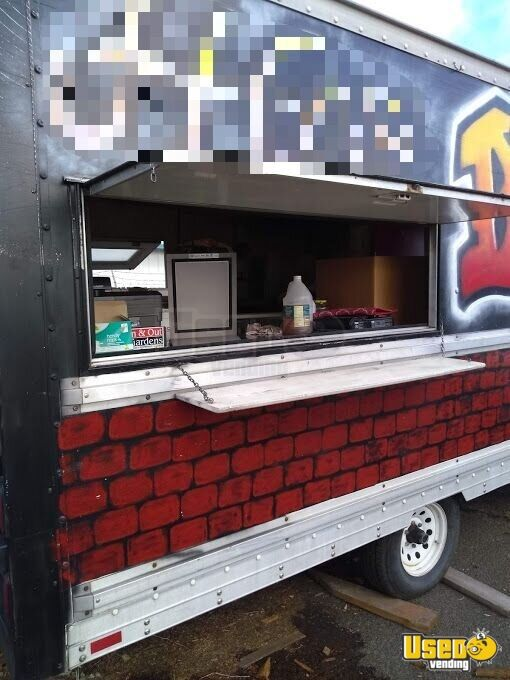 Food Concession Trailer Concession Trailer Exterior Customer Counter Oregon for Sale - 5