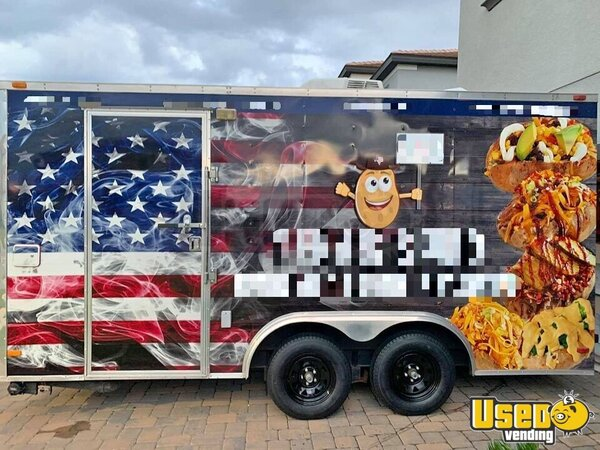 Food Concession Trailer Concession Trailer Florida for Sale