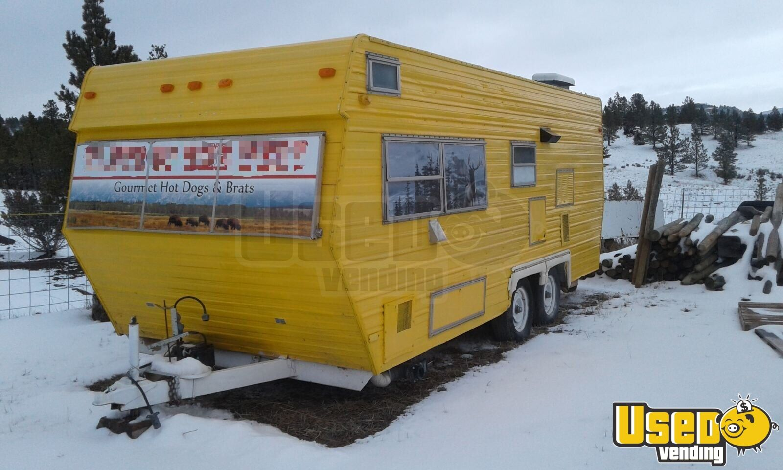 Food Concession Trailer Concession Trailer Propane Tank Wyoming for Sale - 6