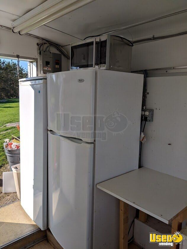 Food Concession Trailer Concession Trailer Refrigerator Michigan for Sale - 5
