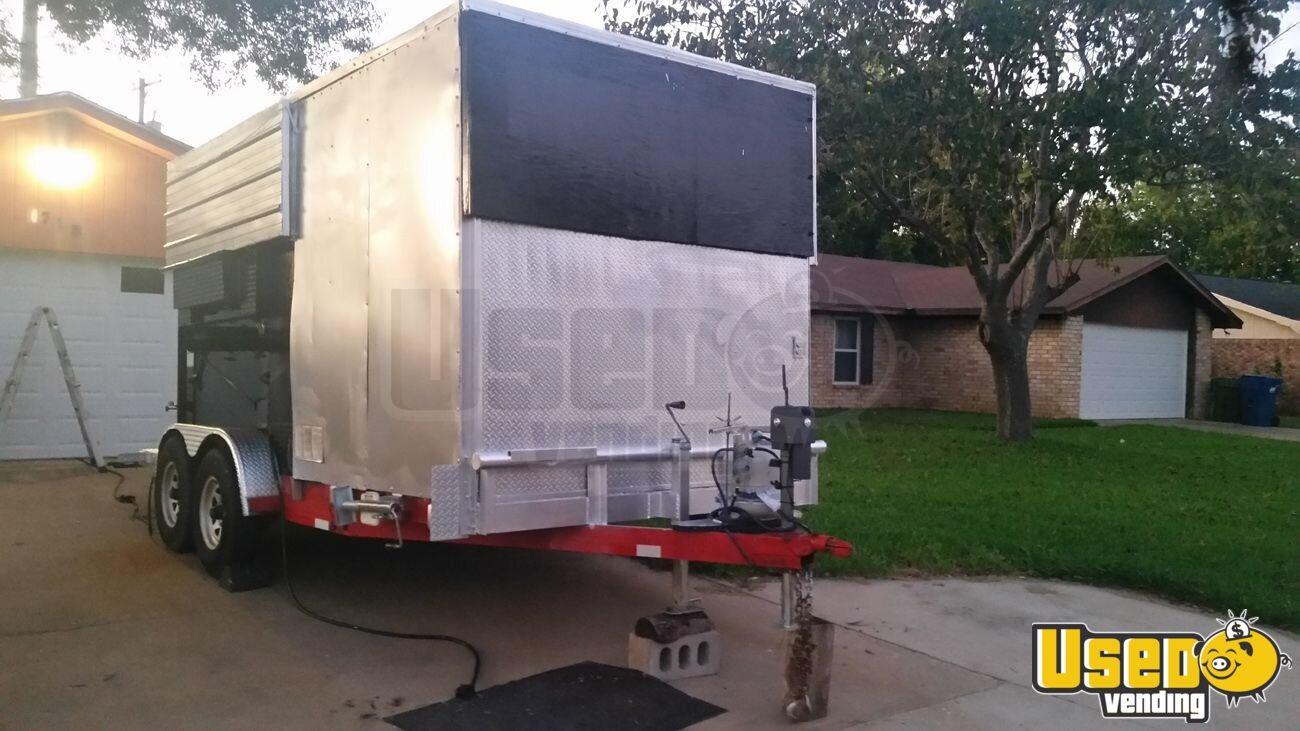 Food Concession Trailer Concession Trailer Removable Trailer Hitch Texas for Sale - 5