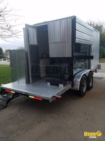 Food Concession Trailer Concession Trailer Spare Tire Texas for Sale - 4