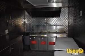 Food Concession Trailer Concession Trailer Stainless Steel Wall Covers Texas for Sale