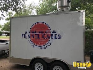 Food Concession Trailer Kitchen Food Trailer Air Conditioning Texas for Sale