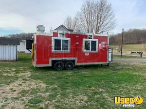 Food Concession Trailer Kitchen Food Trailer Air Conditioning Virginia for Sale