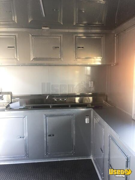 Food Concession Trailer Kitchen Food Trailer Awning Texas for Sale - 6