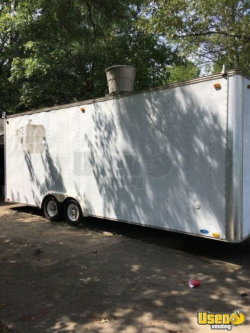Food Concession Trailer Kitchen Food Trailer Cabinets Arkansas for Sale
