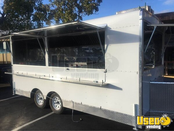 Food Concession Trailer Kitchen Food Trailer California for Sale