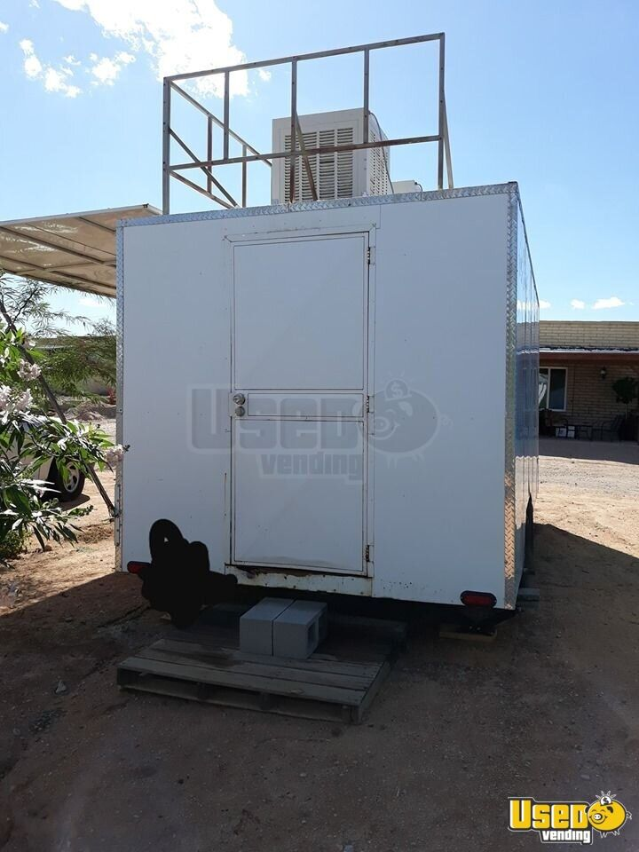 Food Concession Trailer Kitchen Food Trailer Concession Window Arizona for Sale - 3