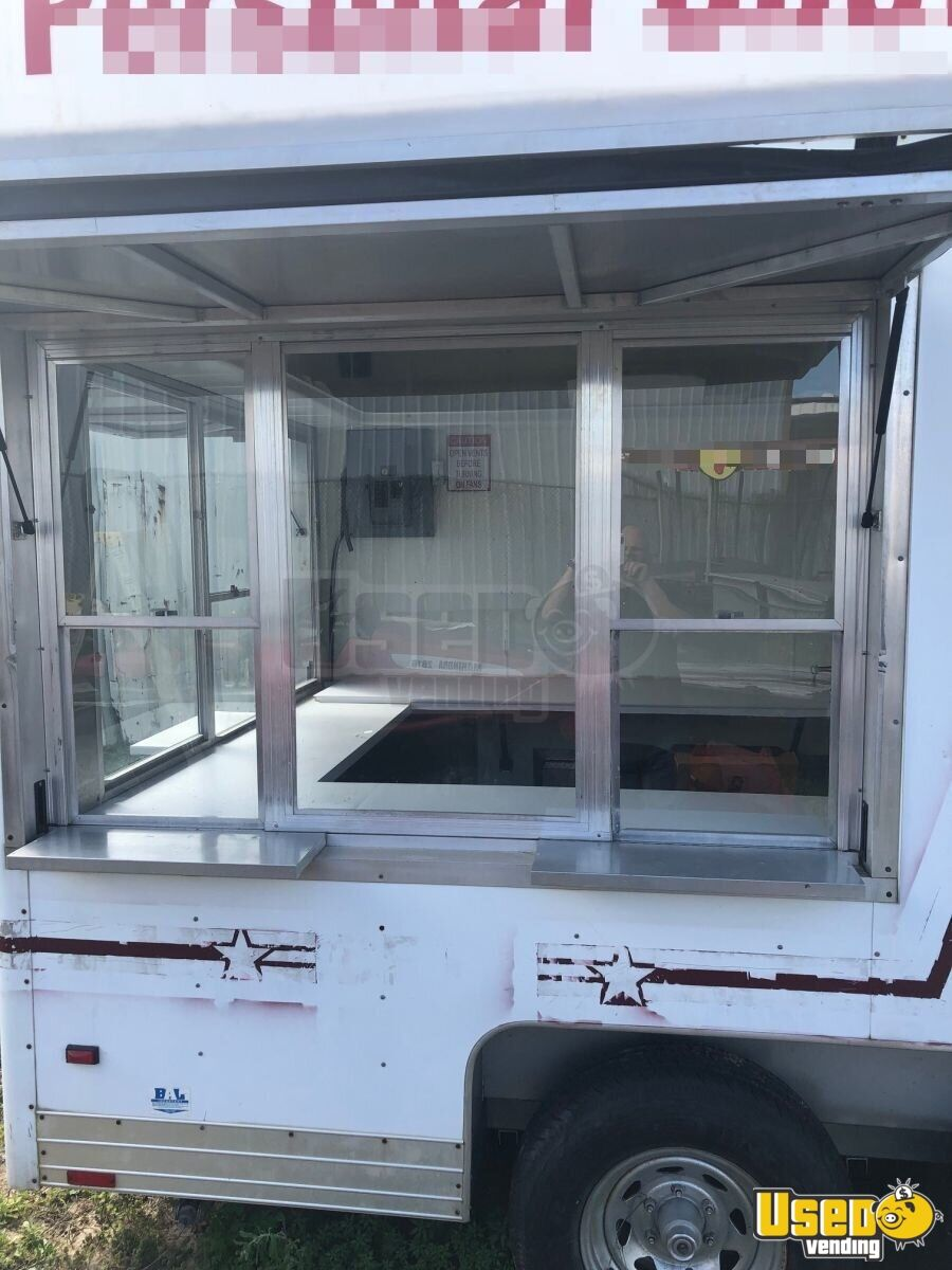 Food Concession Trailer Kitchen Food Trailer Concession Window Louisiana for Sale - 3