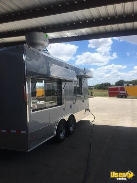 Food Concession Trailer Kitchen Food Trailer Concession Window Texas for Sale - 2