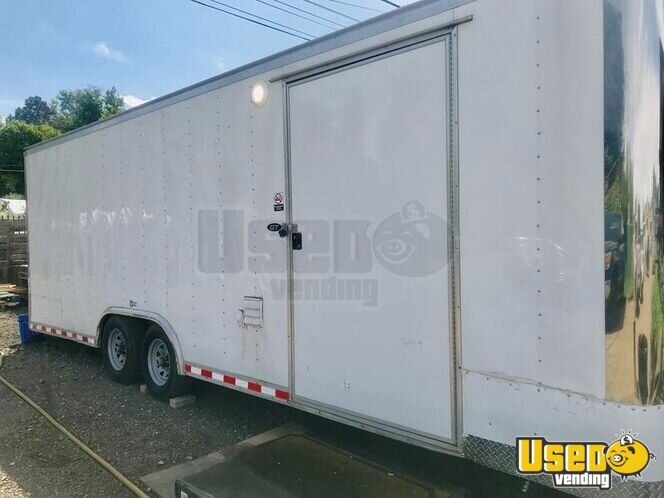 Food Concession Trailer Kitchen Food Trailer Concession Window Utah for Sale - 2