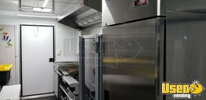 Food Concession Trailer Kitchen Food Trailer Deep Freezer Texas for Sale