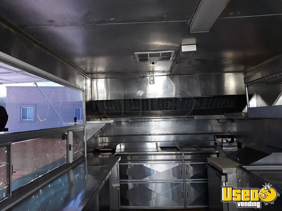 Food Concession Trailer Kitchen Food Trailer Exterior Customer Counter Arizona for Sale - 4