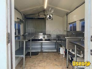 Food Concession Trailer Kitchen Food Trailer Exterior Customer Counter Oklahoma for Sale