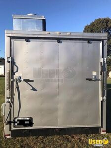 Food Concession Trailer Kitchen Food Trailer Exterior Customer Counter South Carolina Gas Engine for Sale