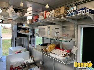 Food Concession Trailer Kitchen Food Trailer Fire Extinguisher Virginia for Sale