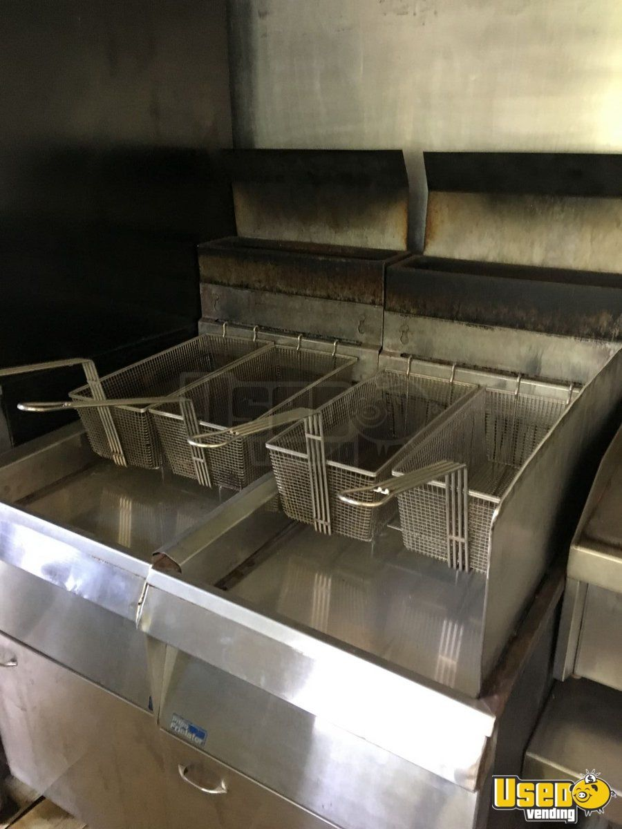 Food Concession Trailer Kitchen Food Trailer Microwave Arkansas for Sale - 10