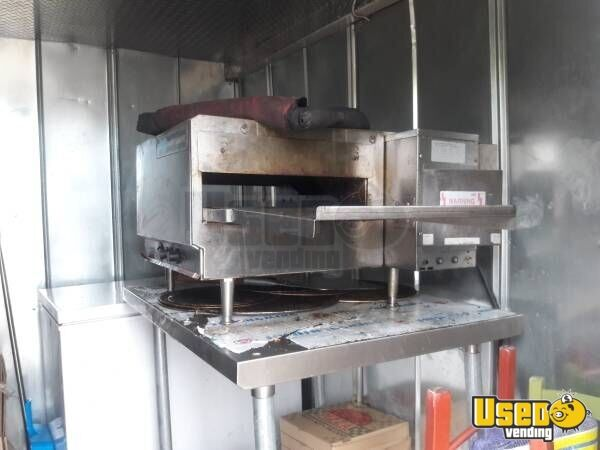 Food Concession Trailer Kitchen Food Trailer Pizza Oven Tennessee for Sale - 9