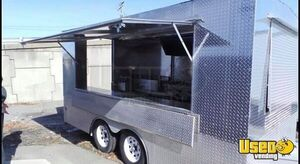 Food Concession Trailer Kitchen Food Trailer Refrigerator Virginia for Sale