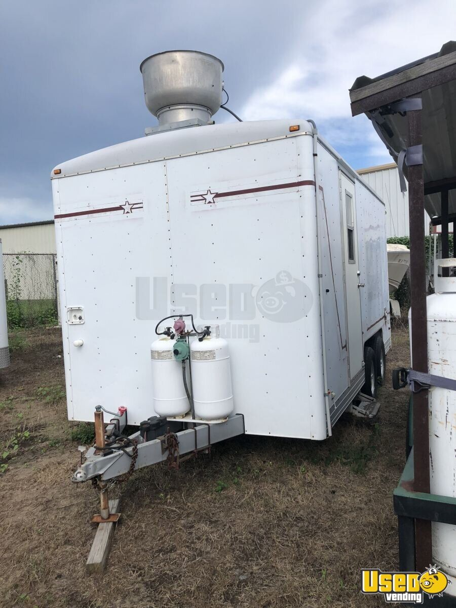 Food Concession Trailer Kitchen Food Trailer Spare Tire Louisiana for Sale - 4