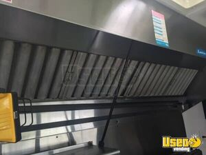 Food Concession Trailer Kitchen Food Trailer Stainless Steel Wall Covers North Carolina for Sale