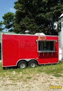 Food Concession Trrailer Concession Trailer Exterior Customer Counter Rhode Island for Sale