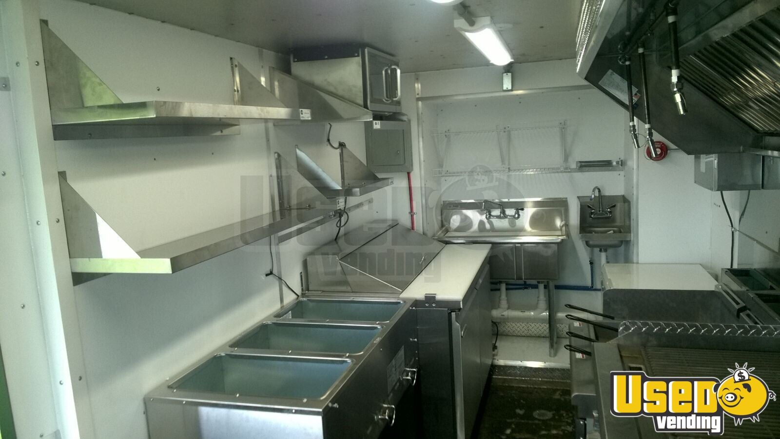 Food Truck Backup Camera Ohio Gas Engine for Sale - 7