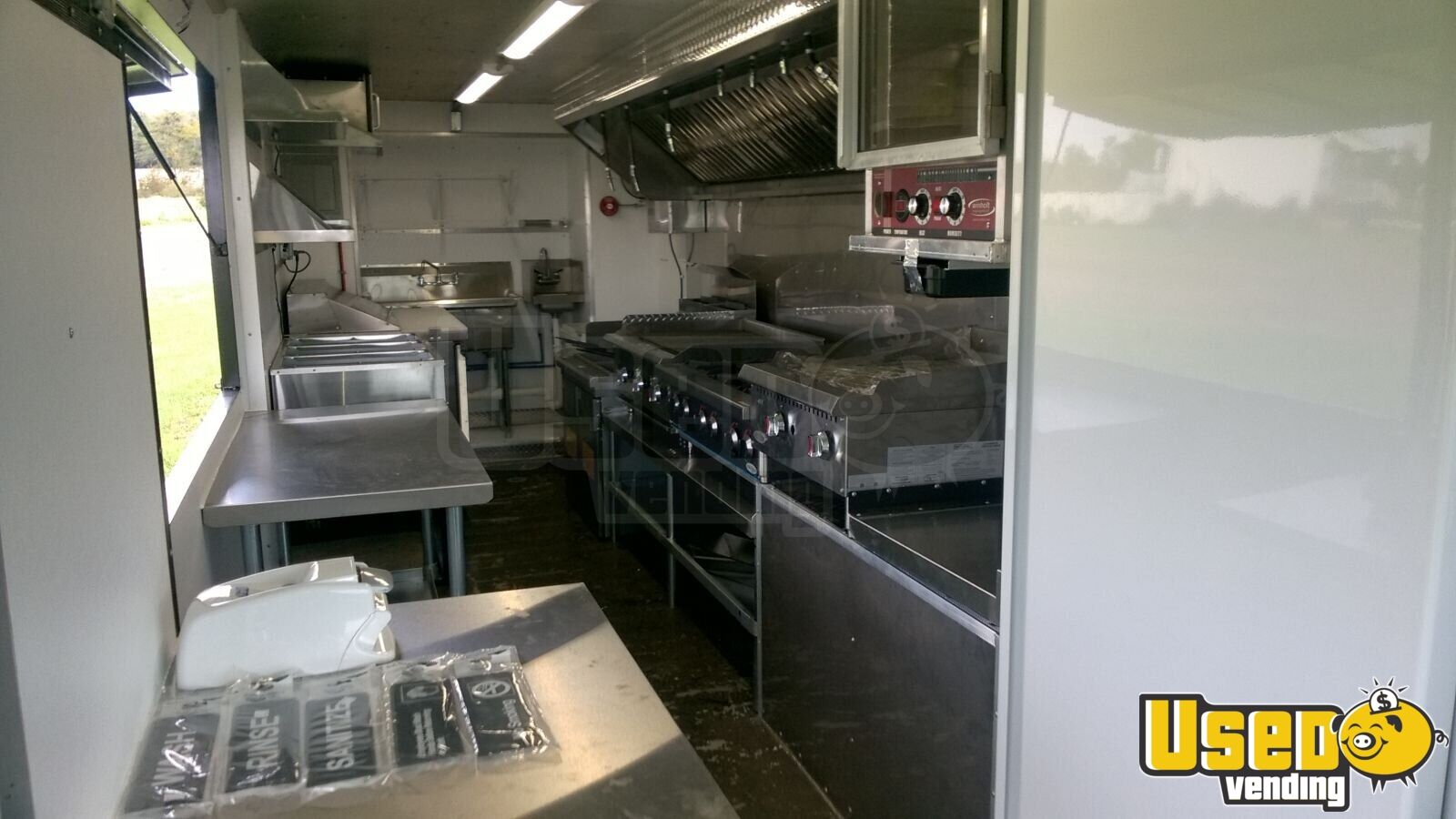 Food Truck Exterior Customer Counter Ohio Gas Engine for Sale - 6