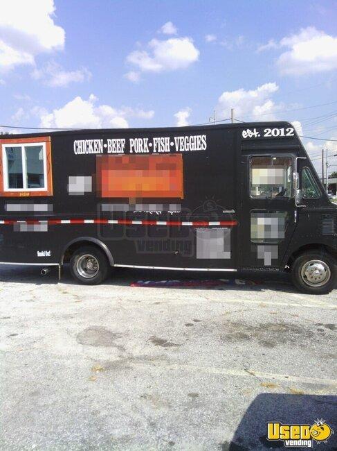 for sale used food truck in georgia mobile kitchen. Black Bedroom Furniture Sets. Home Design Ideas