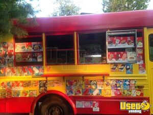 Food Truck Interior Lighting New Jersey Diesel Engine for Sale