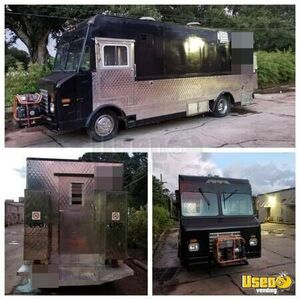 gmc step van food truck mobile kitchen for sale in georgia. Black Bedroom Furniture Sets. Home Design Ideas