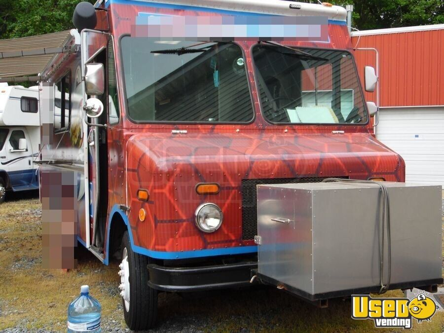 Freightliner All-purpose Food Truck Awning Delaware Diesel Engine for Sale - 4