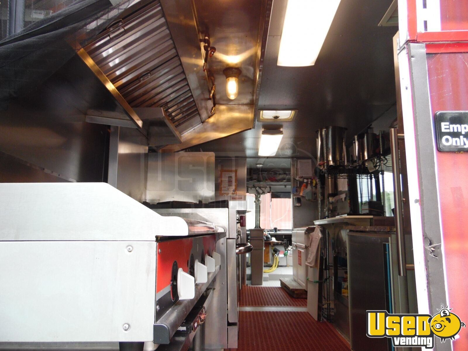 Freightliner All-purpose Food Truck Chargrill Delaware Diesel Engine for Sale - 13
