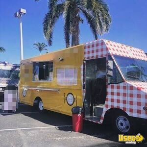 Gmc Workhorse Food Truck Concession Window Florida for Sale