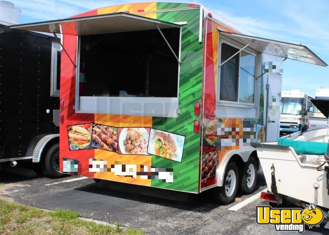 Haul Kitchen Food Trailer Generator Florida for Sale - 6