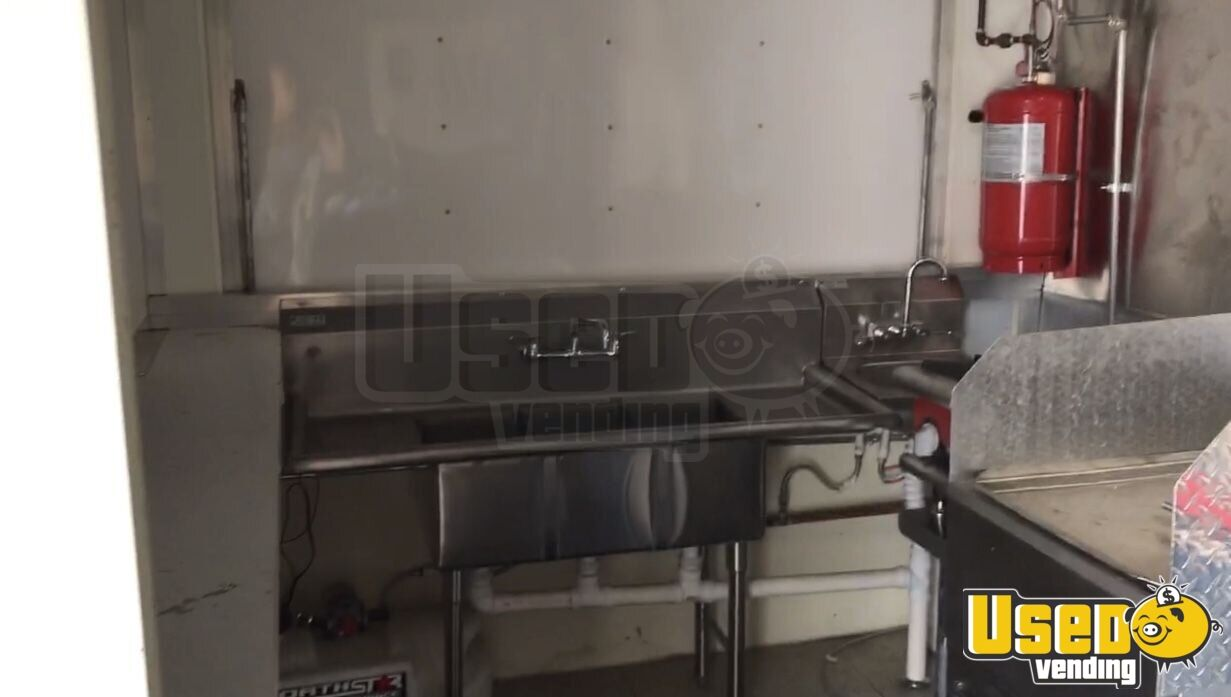 Haul Kitchen Food Trailer Pro Fire Suppression System Florida for Sale - 11